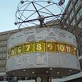 Zegar dla całego świata w Berlinie #zegar #strefa #czasowa #świat #czas