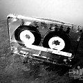 #kaseta #grafika #komputerowa #czerń #biel