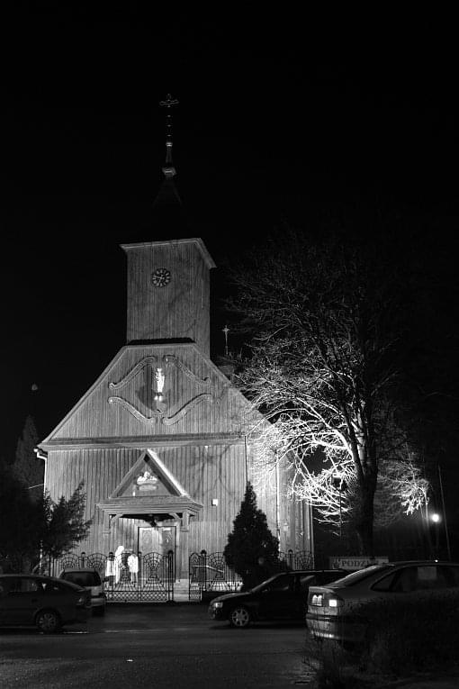 Dobrzyca - Kościół św. Tekli zbudowany w 1778 r. #Dobrzyca #kościół