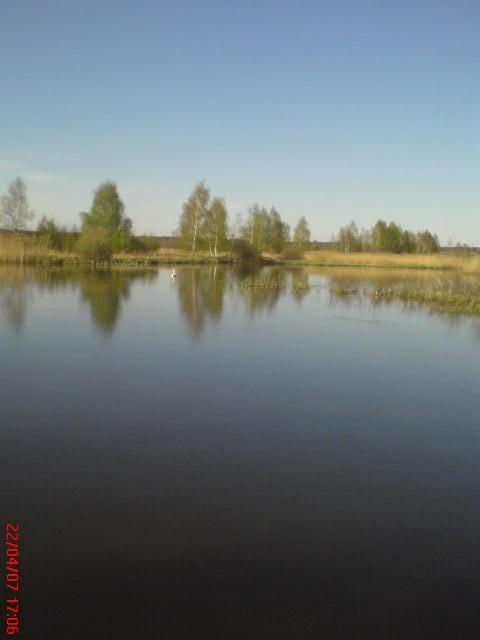a tutaj łowiłam rybki:) piekny widok mm...:D