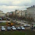 ul. 27 Grudnia #poznan #PlacWolności #ulica #chmury #koparka