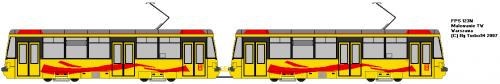 FPS 123N - TW Warszawa - nowe tramwaje od HCP.