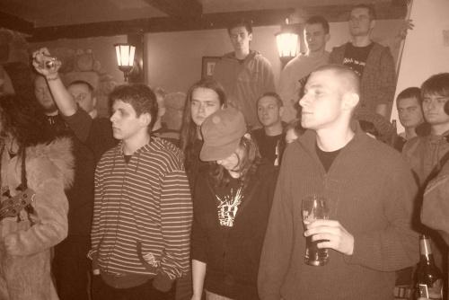 Koncert w Nocturamie - Chaos Party - S.A.T.A.N. , KRAP NEK - 16.04.2008