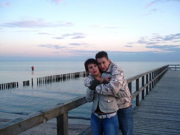 Z Michałem w Mielnie. #znajomi #wspomnienia