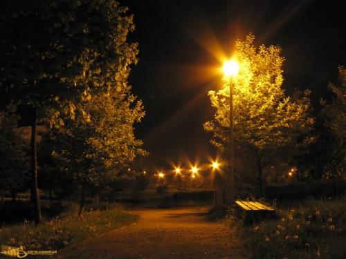 Częstochowa nocą #noc #częstochowa