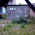 thc = :-) #thc #tag #ściana #speluna #trawka