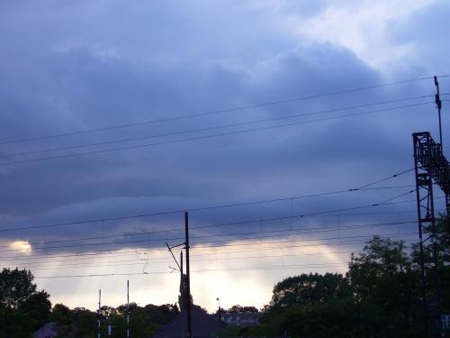 Łobez 16.06.2008 #chmury