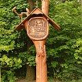 ścieżka przyrodniczo - dydaktyczna #kapliczka #drewniana