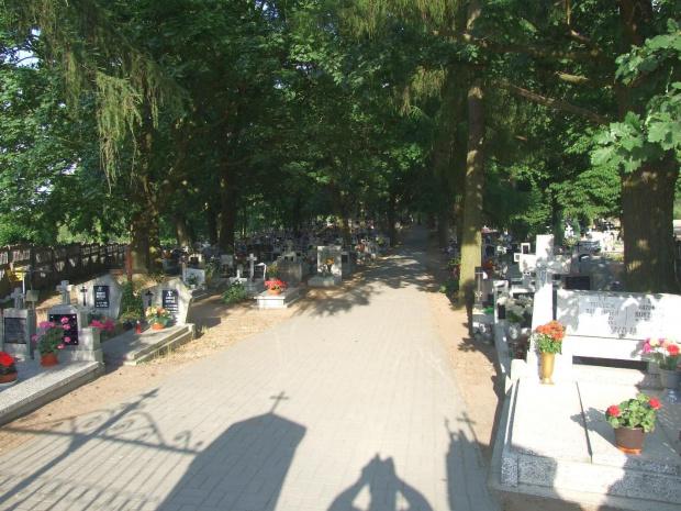 Dąbrówka Kościelna cmentarz #cmentarze