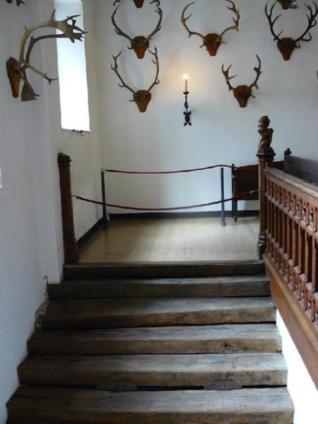 klatka schodowa w czesci Henryka VIII #Hampton #Londyn #Tudor