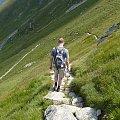 Zejście z Wołowca do Doliny Chochołowskiej #tatry #góry #zakopane #szczyt #grześ #rakoń #wołowiec #rysy #kasprowy #dunajec #krupówki