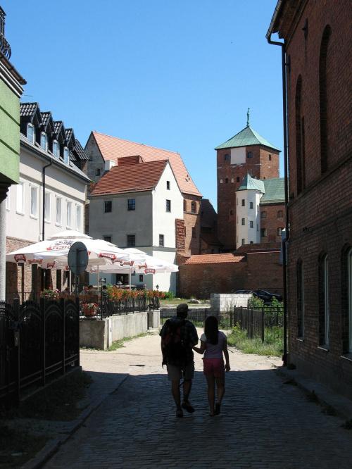 w drodze na zamek #zamek #Darłowo #zwiedzanie