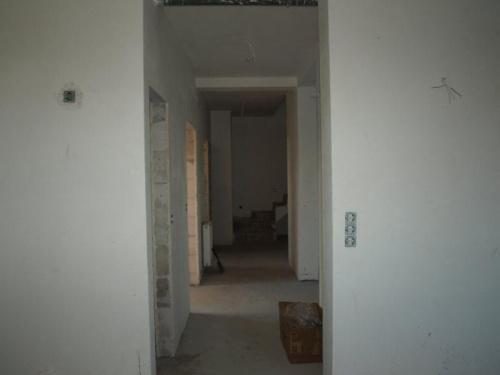 korytarz na parterze widok z kuchni