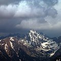 Świnica z głównej grani Tatr Zachodnich (ze Smreczyńskiego lub Tomanowego) #góry #mountain #Tatry #Świnica
