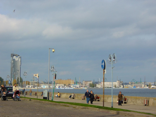 Gdynia bulwar