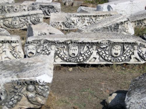 Pamukale, Hierapolis. Zabytki