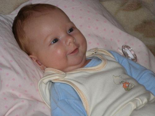 8 tygodni #dziecko #dzieci #niemowlę #niemowlęta