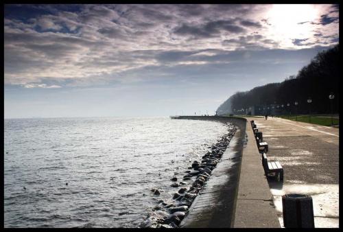 Gdynia, Bulwa. #Gdynia #morze #bulwar