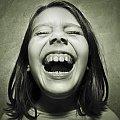 #dziewczynka #śmiech #zęby