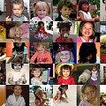 Dzieci - rodziny, przyjaciół i znajomych z sieci. #collage #dzieci #Polska #świat