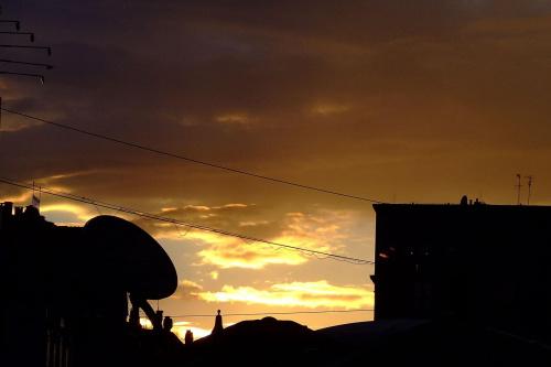 aż się prosi o photoshopa :) #ZachodSłońca #chorzów