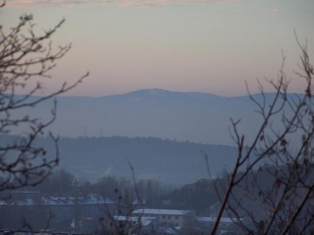 #góry #krajobraz #wschód #beskid #skrzyczne #jaworzno
