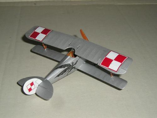 Nieuport Ni-24 pilot Lt.A.Jurkiewicz Poland 1919 - Roden 1/72 90fd408fcbc5413dmed